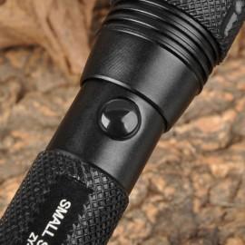 SMALL SUN ZY-305 80LM White Aluminum Alloy Flashlight Black (1 x AA)