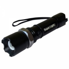 Swat 3 Modes Dimmable Focusing Rechargeable Aluminum Alloy LED Flashlight