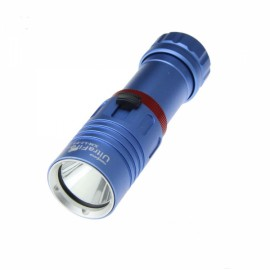 UltraFire 1000lm 3 Mode IPX6 Waterproof LED Diving Flashlight Blue