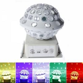LED 10W RGB Lighting Color Magic Ball Light White (US/EU Standard Plug)