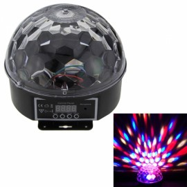 Ultrafire LED Crystal Magic Ball Romantic Colorful Effect Stage Lamp US Plug Black & White