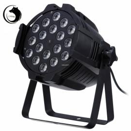 U`King ZQ-B35 240W 18-LED 4-in-1 RGBW Light Sound Control Auto DMX512 Master-slave Synchronization Modes Stage Light Black