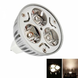 MR16 3W 240 Lumen 3500K Warm White Light LED Spotlight Bulb (12V)
