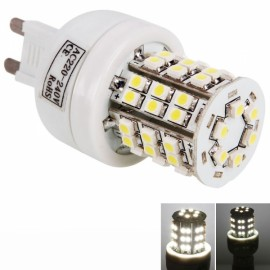 G9 4W 48 LED SMD3528 6000K White Corn Light Lamp (220V)
