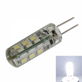 G4 2W 24LEDs SMD3014 7000K White Light LED Corn Light Bulb (12V)