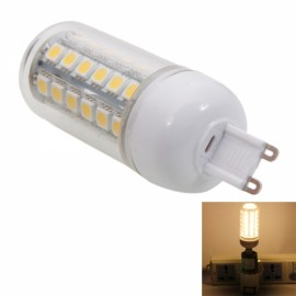 G9 4W 48LED SMD5050 3000K LED Light Warm White Corn Light Bulb With Cover (220-240V)