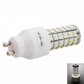 GU10 4W 108LED SMD3528 6000K White LED Corn Light (100-120V)
