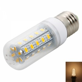 E27 7W 36LED 400-450LM SMD5730 3000-3500K Warm White Corn Light with Transparent Cover (200-240V)