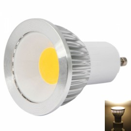 GU10 3W 1LED 270-300LM 2800-3200K COB Dimmable Warm White Light LED Spotlight Bulb (220V)