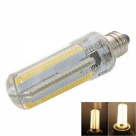 E11 7W 152-LED 3014 SMD 3000-3500K Warm White Light Adjustable Silica Gel Corn Light (100-120V)