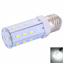 E27 5W 20-LED SMD5630 600LM 6000-6500K Pure White Light LED Corn Lamp (AC 100-240V)