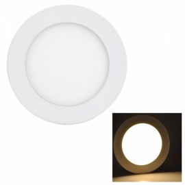9W 810LM 3000K Warm White Light 45-SMD2835 Ultra Slim Round LED Ceiling Light / Panel Lamp White (AC85-265V)
