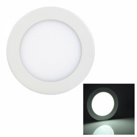 9W 810LM 6000K White Light 45-SMD2835 Ultra Slim Round LED Ceiling Light / Panel Lamp White (AC85-265V)