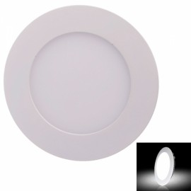 12W 1080LM 6000K White Light 60-SMD2835 Ultra Slim Round LED Ceiling Light / Panel Lamp White (AC85-265V)