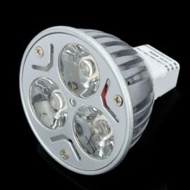 DB-YM302 GU5.3 3W 280lm 2800-3500K Warm White Light 3-LED Lamp Spot Light Bulb (12V)