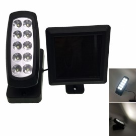 10 LED Waterproof Super Bright PIR Motion Sensor Solar Lamp