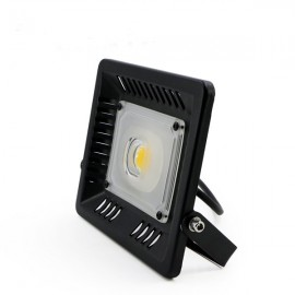 50W IP65 Waterproof Anti-thunder Temperature Control Ultrathin LED Flood Light Warm White (AC170-300V)