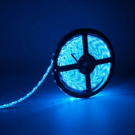 5M 24W SMD3528 LED IP65 Water Resistant Flexible Strip Lamp (DC12V) Blue