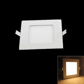 15W 1350LM 3000K Warm White Light 75-SMD2835 Ultra Slim Square LED Ceiling Light / Panel Lamp White (AC85-265V)