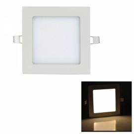9W 810LM 3000K Warm White Light 45-SMD2835 Ultra Slim Square LED Ceiling Light / Panel Lamp White (AC85-265V)