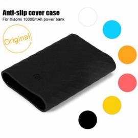 Original Protective Silicone Cover Case for Xiaomi 10000mAh Power Bank Black