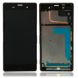 LCD Screen and Touch Screen Assembly with Frame for Sony Xperia Z3 D6603 D6643 C6653 Black