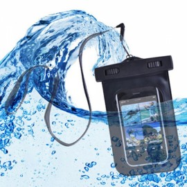 Universal PVC Waterproof Bag for Samsung/iphone/other Phone Black