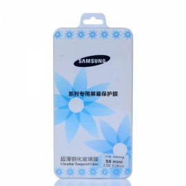 Tempered Glass Shatter-proof Screen Protector Film for Samsung S5 Mini Transparent