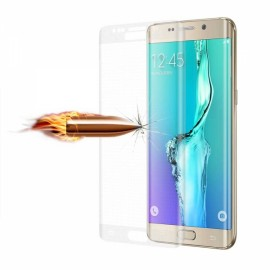 0.3mm Full Screen Cover Tempered Glass Screen Protector for Samsung Galaxy S6 Edge Transparent