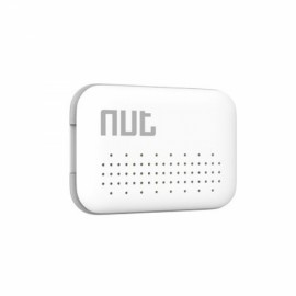 Nut Mini Multi-functional Intelligent Bidirectional Alarm Bluetooth V4.0 Smart Tracker White