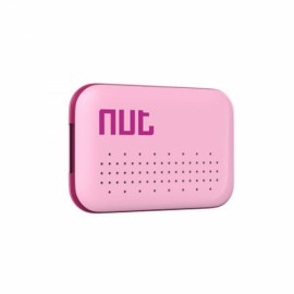 Nut Mini Multi-functional Intelligent Bidirectional Alarm Bluetooth V4.0 Smart Tracker Pink