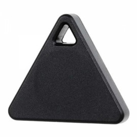 Triangle Bluetooth Smart Mini Tag Tracker Pet Child Wallet Key Finder GPS Locator Alarm Black