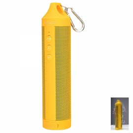 DS-1699 Outdoor Sport Portable IPX4 Waterproof Hands-free Bluetooth V4.0 Speaker with FM / TF Golden