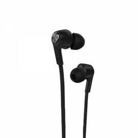 Xiaomi 3.5mm Plug In-ear Earphones with Mic & Earmuffs for Xiaomi / iPhone / iPad Black