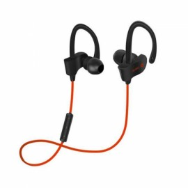 Wireless Bluetooth 4.1 Stereo Earphones with Mic Sports Music Sweatproof Headset for iPhone Xiaomi iPad Red