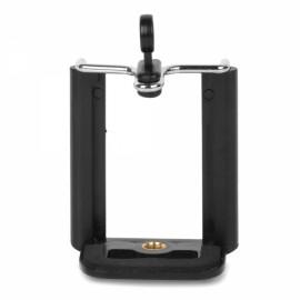 Universal Adjustable Plastic Mobile Phone Mount Holder for iPhone/HTC/Samsung Black