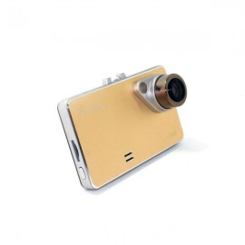 2.7 inch LCD Screen Night Vision 170-Degree 720P Car DVR Video Digital Camera Recorder Golden