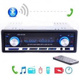 12V Car Stereo FM Radio MP3 Audio Player Support Bluetooth Phone with USB/SD MMC Port Car Electronics In-Dash 1 DIN