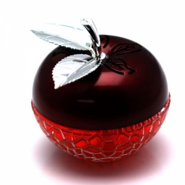 Unique Apple-shaped Apple Fragrance Car Perfume Seat Red & Silver