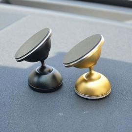 Universal 360 Degrees Rotatable Nanometer Car Mount Phone Holder for Cellphone Golden