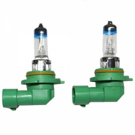 2pcs PEGASUS HB4/9006 12V 55W 2000LM 4300K Warm White Automobile Headlights Green