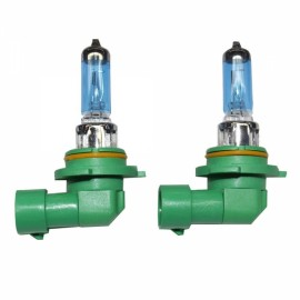 2pcs PEGASUS HB4/9006 12V 100W 2100LM 6000K White Automobile Headlights Blue & Green & Yellow