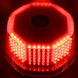 30W 240 LED Car Emergency Strobe Light Beacon Flashing Warning Lamp Red