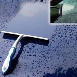 Practical T-shaped Glass Clean Wiper for Auto / Household Cleaning Blue