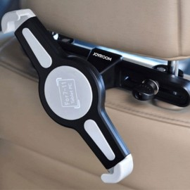 "7-11"" Universal Tablet PC Car Back Seat Holder 360-Degree Rotating Angle Adjustable Bracket Support for Tablet PC Notebook Black"