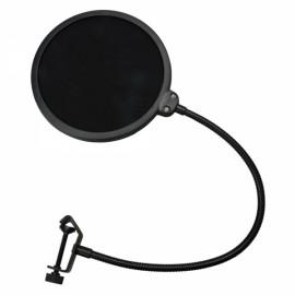 E Zhiying Record Studio Microphone Mic Pop Screen Filter Black
