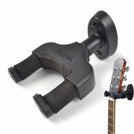 AROMA AH-81 Practical Instruments Wall-mounted Hanger Holder Rack Hook for Guitar / Ukulele / Violin Black