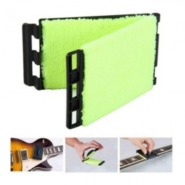 JOYO ACE-30 Guitar Strings Cleaner Washable Microfiber Instrument Dust Cleaner Fluorescent Green