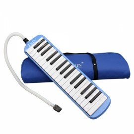 IRIN 32-Key Melodica with Blowpipe & Blow Pipe Blue