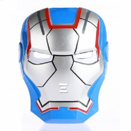 Hot Halloween Masquerade Party Face Mask Blue Iron Man Mask